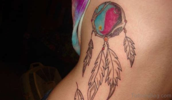 Unique Dreamcatcher Tattoo