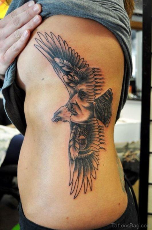 Unique Eagle Tattoo