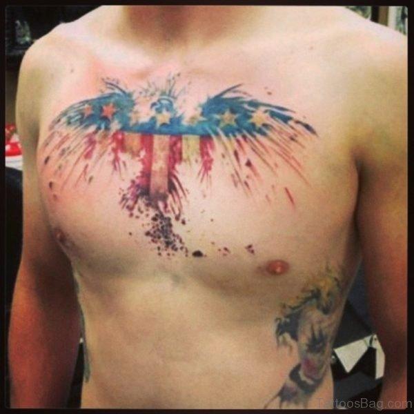 Unique Flag Tattoo