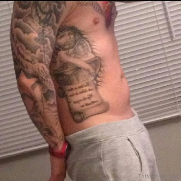 Unique Jesus Tattoo