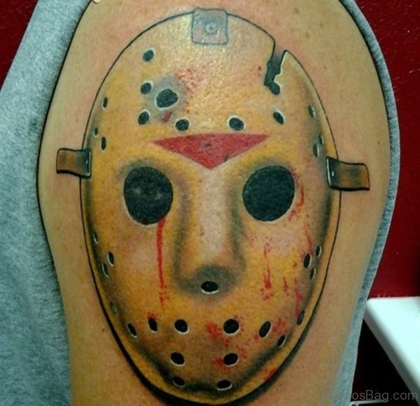 Unique Mask Tattoo