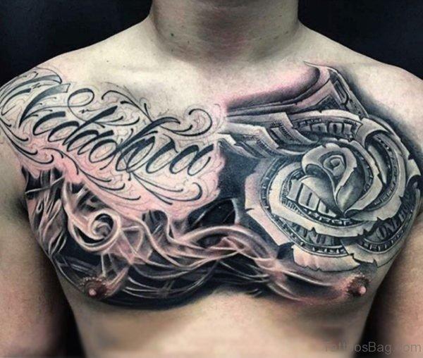 Unique Rose Tattoo