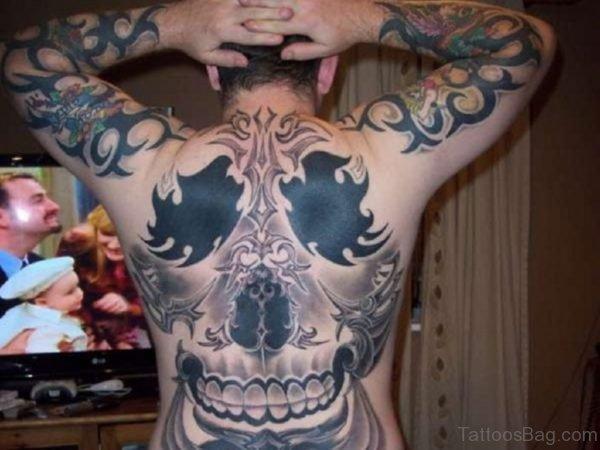 Unique Skull Tattoo