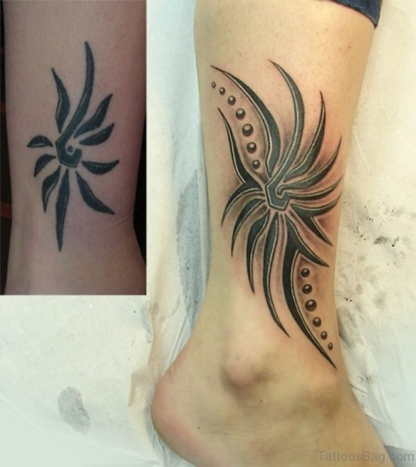 Unique Tribal Tattoo Design