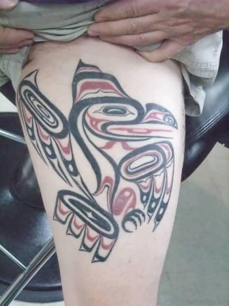 Hawaiian Flower Tattoo Sleeve