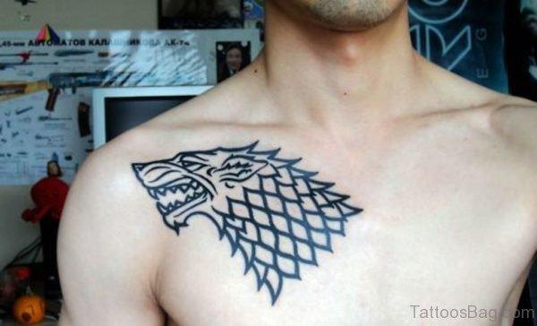 Unique Wolf Tattoo