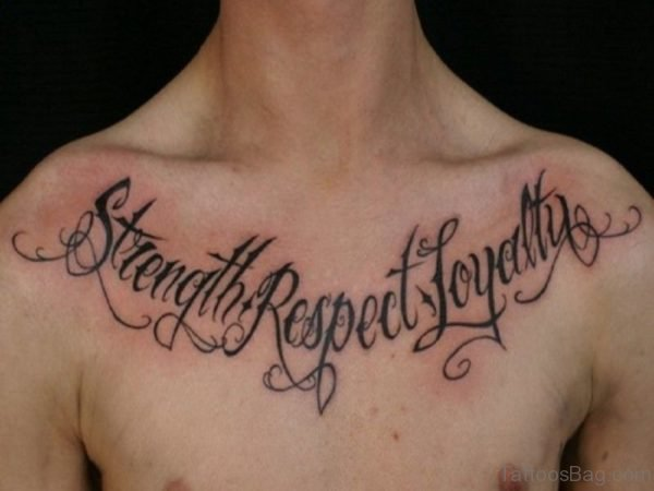 Unique Word Tattoos For Men
