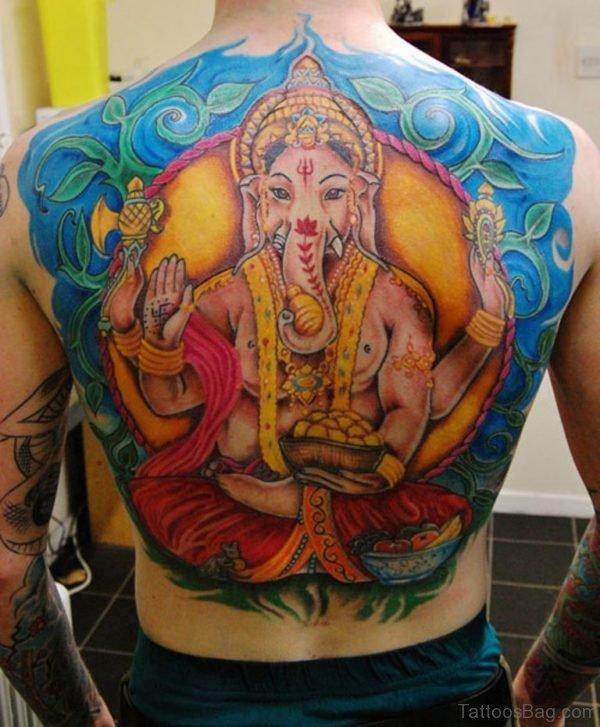 Very Nice Ganesha Tattoo