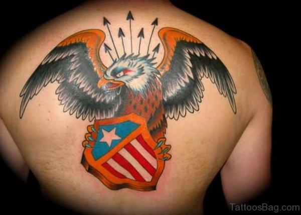 Warrior Eagle Tattoo