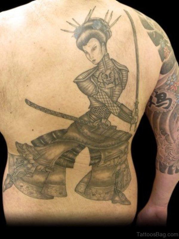 Warrior Geisha Tattoo
