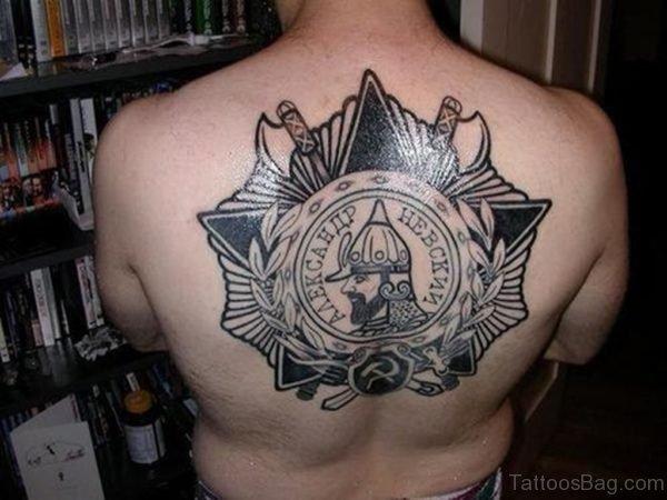 Warrior Spine Tattoo