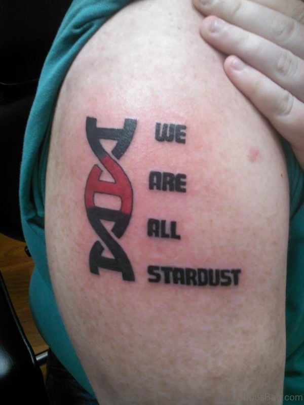 We Are All Stardust Tattoo Design