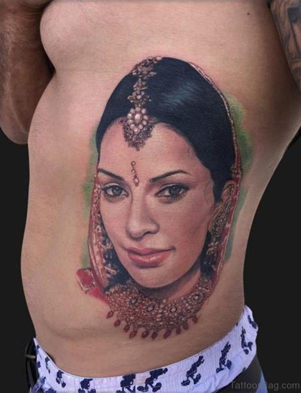 Wife Portrait Tattoo