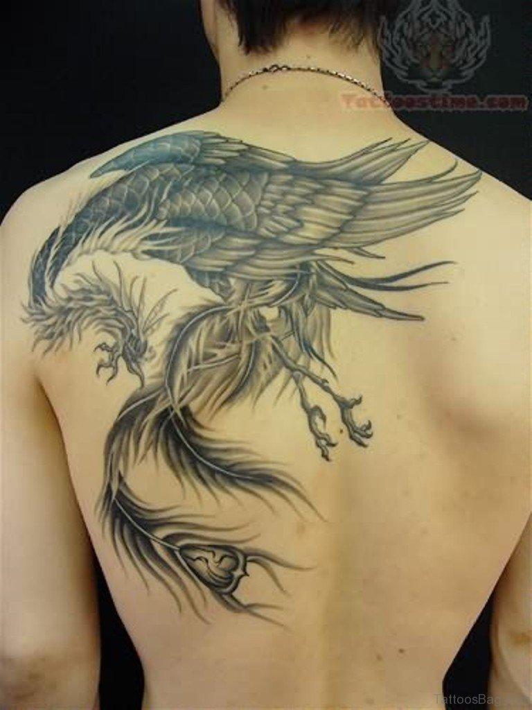 Phoenix tattoo for men - Wings Tattoo