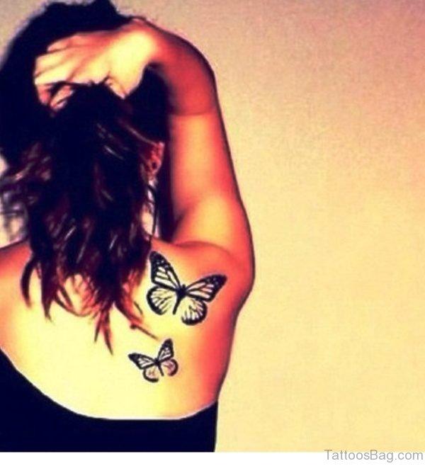 Wnderful Butterfly Tattoo