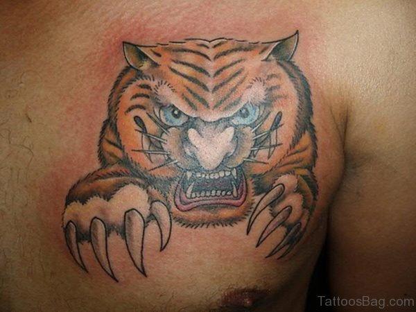 Wild Tiger Tattoo