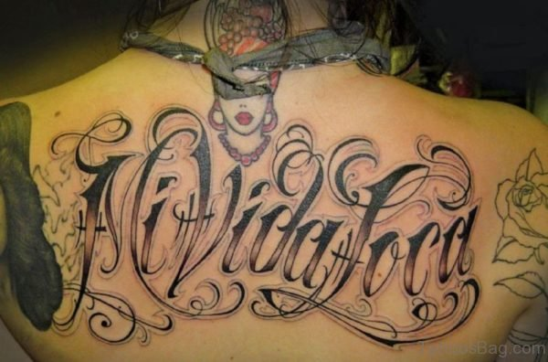 Wonderful Ambigram Tattoo