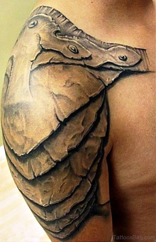 Wonderful Armour Tattoo Design