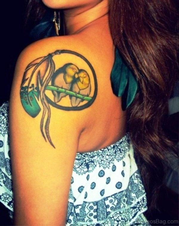 Wonderful Bird Tattoo Design