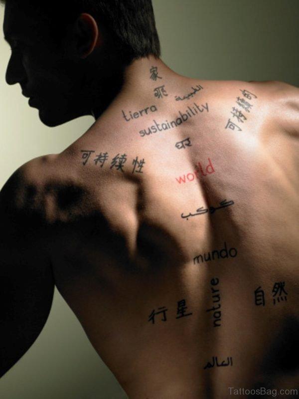 Wonderful Chinese Tattoo Design