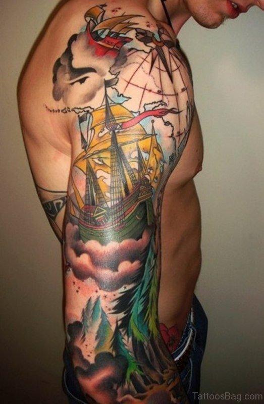 Wonderful Cloud Tattoo
