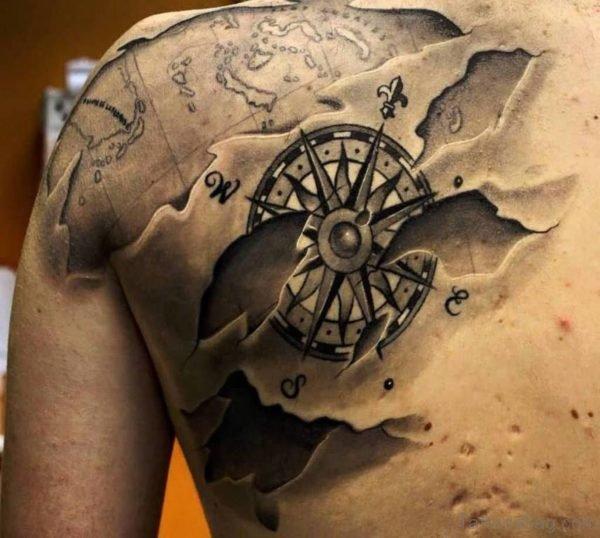 Wonderful Compass Tattoo