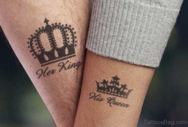 Wonderful Crown Tattoo