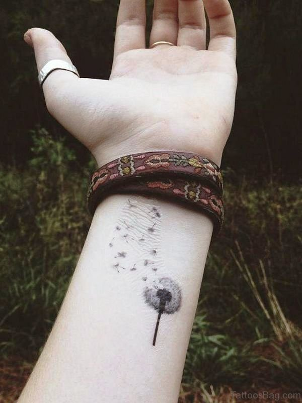 Wonderful Dandelion Tattoo