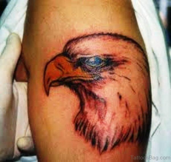 Wonderful Eagle Shloulder Tattoo