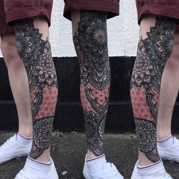 Wonderful Geometric Tattoo Design