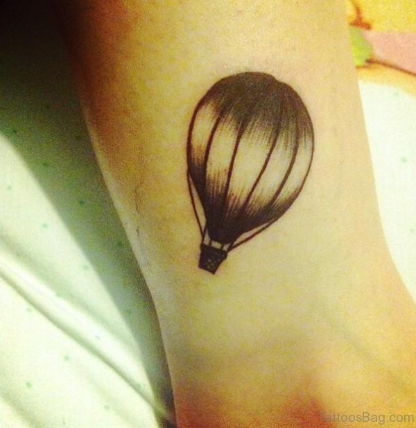 Wonderful Hot Air Balloon Tattoo