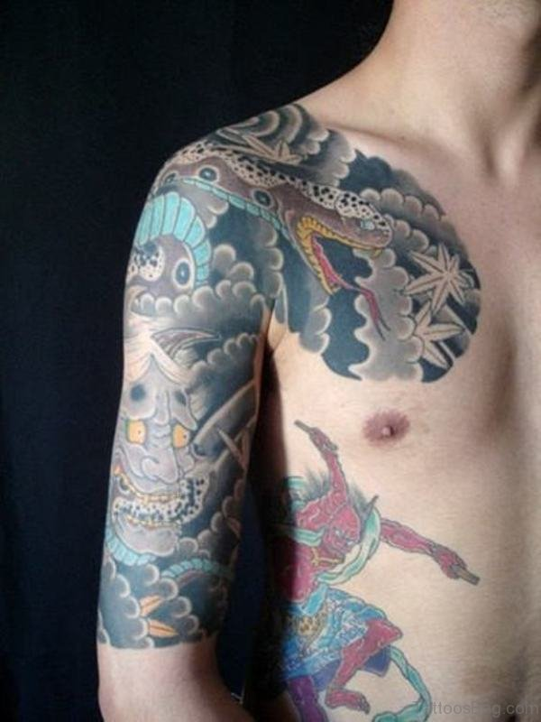 Wonderful Japanese Tattoo