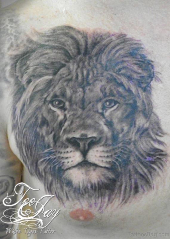 Wonderful Lion Tattoo