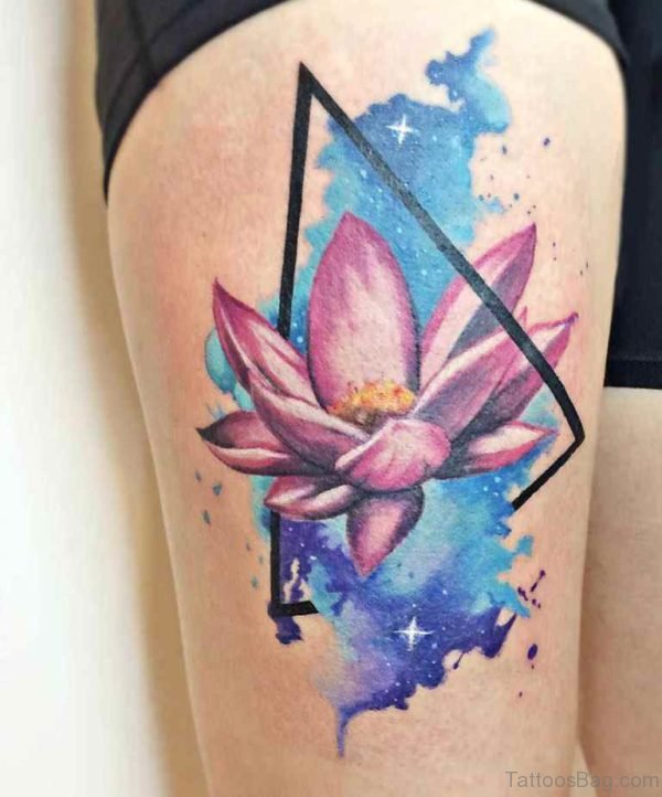 Wonderful Lotus Tattoo