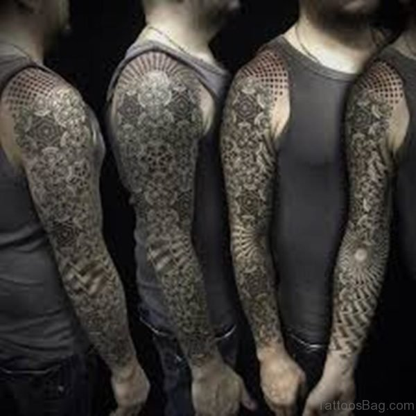 Wonderful Mandala Tattoo Design