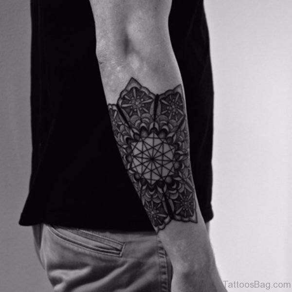 Wonderful Mandala Tattoo For Arm
