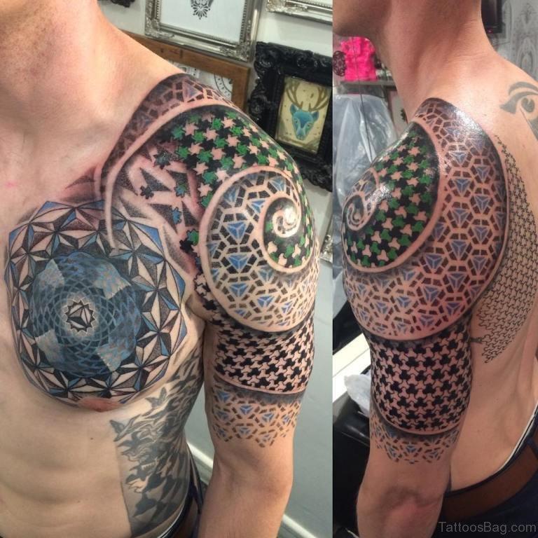 90 Outstanding Mandala Tattoos On Chest