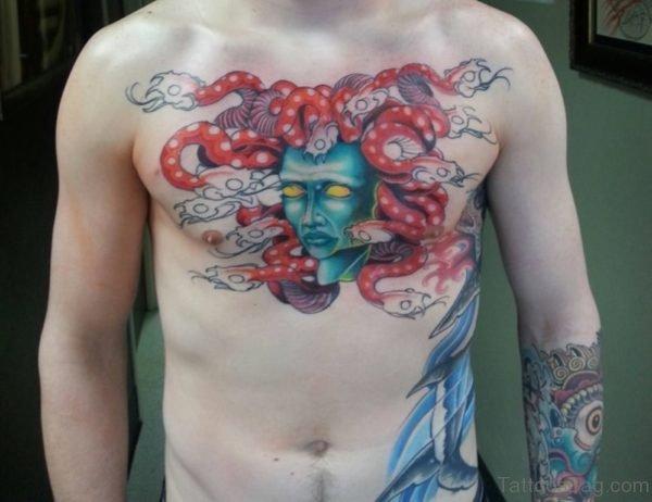Wonderful Medusa Tattoo
