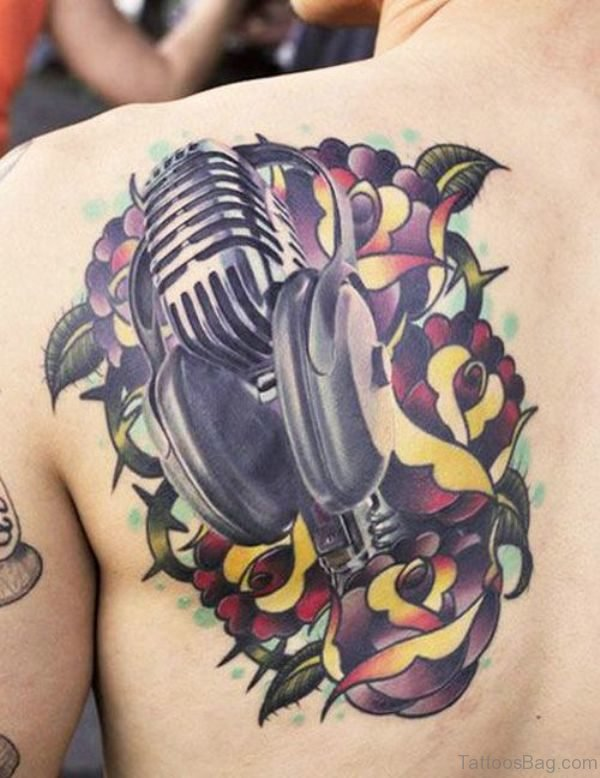 Wonderful Music Note Tattoo