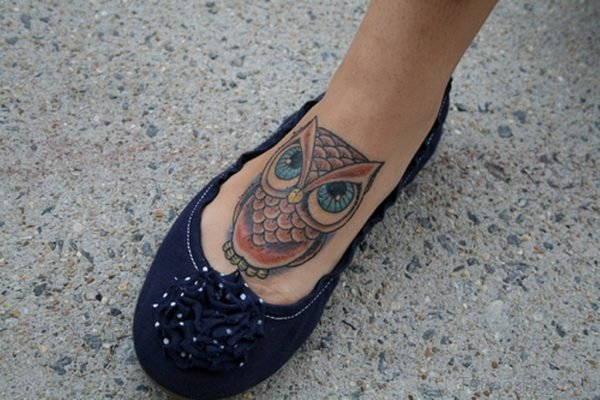 Wonderful Owl Tattoo