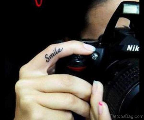 Wonderful Smile Tattoo
