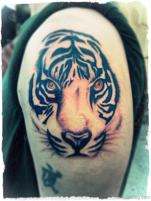 Wonderful Tiger Tattoo Design