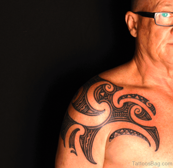 Wonderful Tribal Maori Tattoo