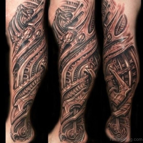 Wonderful Tribal Tattoo Design