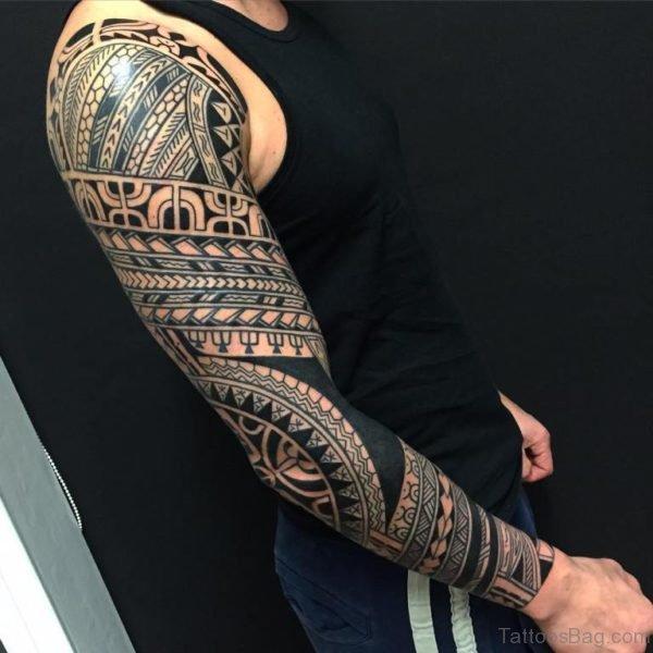 Wonderful Tribal Tattoo Design