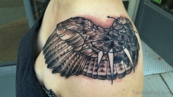 Wonderful Wings Tattoo Design