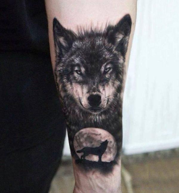 Wonderful Wolf Tattoo