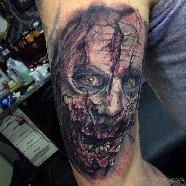 Wonderful Zombie Tattoo