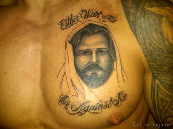 Word And Jesus Tattoo