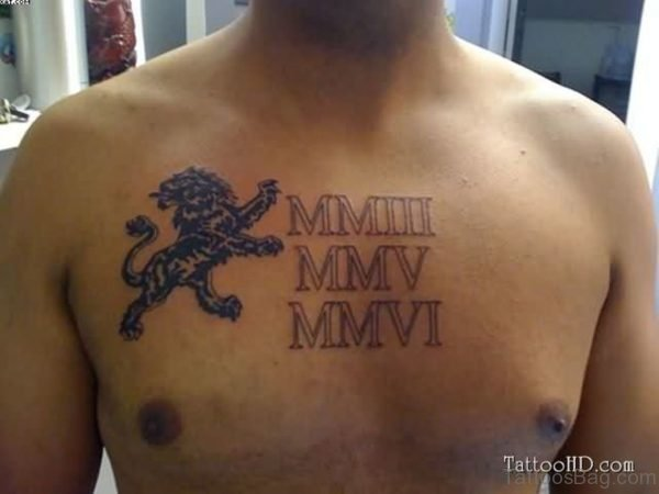 Words Chest Tattoo For Guys